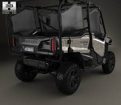 honda 1000 honda pioneer 1000 5 2016 3d model hum3d