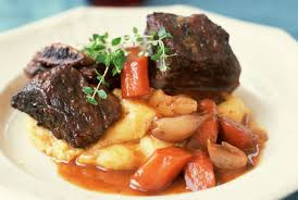 savory beef short ribs with gravy recipe