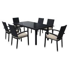 outdoor dining sets black video and photos madlonsbigbear com