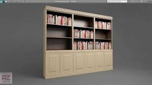 how to design a bookshelf 3dsmax tutorial 02 a bookshelf from one box youtube
