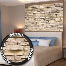 amazon com poster noble stone wall mural decoration modern stone