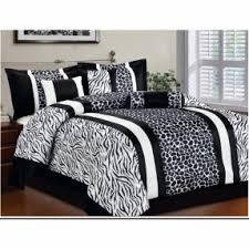 Zebra Bed Set Animal Print Comforter Set Foter