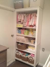 bookcase for baby room my daughters bookshelfcloset nursery organization pinterest baby