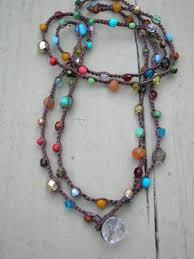 diy necklace bead images Diy jewelry surfer crochet wrap bracelet beaded boho necklace jpg