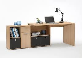 Schreibtisch Mit Computer Fmd Schreibtisch Mit Regal Lex 353 001 In Buche