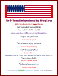 Hometown Buffet Application Online by Independence Day Hiring Spree 2017