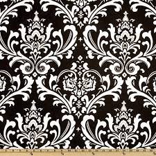 White And Black Damask Curtains Premier Prints Ozborne Black White From Fabricdotcom Screen