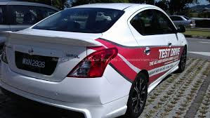 nissan almera nissan almera 1 5v test drive review in penang carreviewsncare com