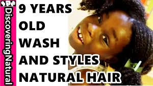 2years old boys easy haircuts for african americans 9 year old washes and styles natural hair herself youtube