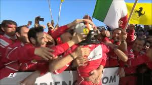 sebastian vettel wins the australian grand prix 2017 celebration