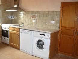 cuisine avec machine à laver cuisine avec lave vaisselle