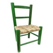 chaise enfant en bois chaise enfant paille bois vert la vannerie d aujourd hui