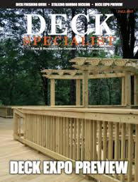 Decking Banister New Deck Specialist Magazine U2013 Building Products