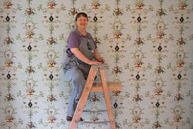 Paper Hanging L Wall Paper Hanging Is Like Upholstering A Room Keepers Of Tradition