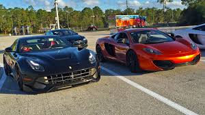 Ferrari F12 On Track - alpha tuned mclaren mp4 12c vs ferrari f12 berlinetta