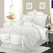 Ruffled Comforter White Fluffy Duvet Covers U2013 De Arrest Me