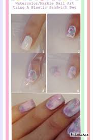 video diy water marble nails makeup tutorials diy marble nail art