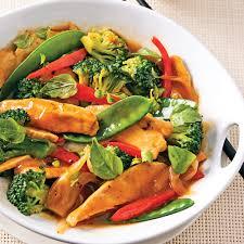 basilic cuisine sauté de poulet au basilic thaï recettes cuisine et nutrition