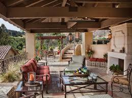 Outdoor Dining Room Ideas Horjd Jamie Durie Outdoor Dining Room Garden Wall S Rend Hgtvcom