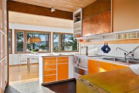 1960s Kitchen by Gorgeous Midcentury House For Sale In Sweden U2013 Modern Maggie