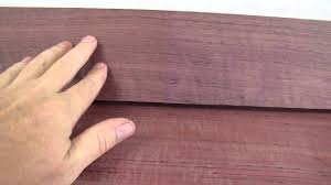 purple wood projects and finishing tips