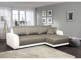 canape gris blanc conforama canapé d angle convertible et réversible 5 places venus coloris