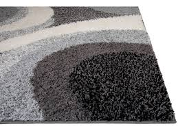 Shaggy Grey Rug Shag Rugs Modern Area Rug Contemporary Abstract Or Solid Shaggy