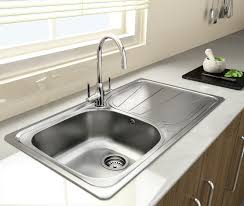 leisure proline pl9852l 1 5 bowl 1th stainless steel inset leisure kitchen sink leisure sinks luxe 105 kitchen sink lx105l