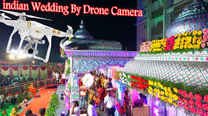 Indian Wedding Photographer Prices Indian Wedding By Drone Camera Rraerial Video Graphy 2015 Dji P3