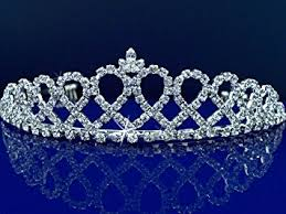 bridal tiara bridal tiara princess tiara with loops 24426