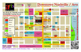 Nashville Tennessee Map Contact Us U2014 The Arts Company