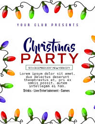 office party flyer office christmas party flyer templates home design u0026 interior design
