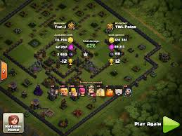 scary pumpkin coc crows a th9 de speciality edge obstacle spawning base