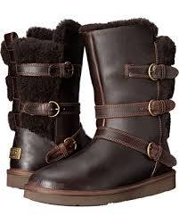 womens ugg becket boots autumn special ugg becket chocolate leather s boots