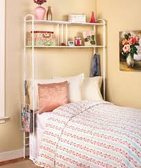 Shelves Over Bed New Over The Bed Storage Dorm Room Space Saver Metal Unit W