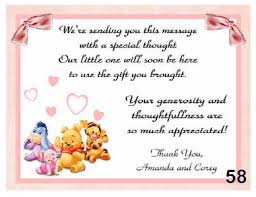 thank you cards baby shower personalized pooh baby shower thank you cards w env ebay