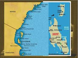 Zanzibar Map A Look Into The Life Of U2026 Ppt Download