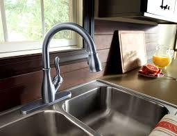 consumer reports kitchen faucet bathroom knockout bellevue bridge kitchen faucet brass sprayer