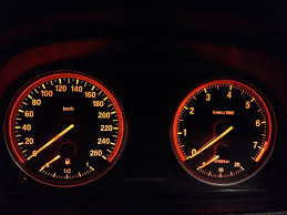 bmw speedometer canadian x1 has no mile hr on speedo what the