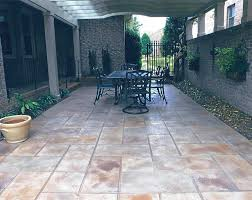Tiling A Concrete Patio by Resurface Concrete Patio U2013 Creative Resurfacing