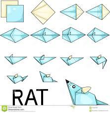 origami rat stock photo image 31697600 for art pinterest