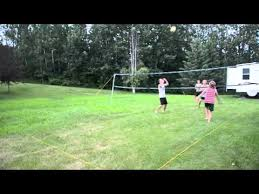 Backyard Volleyball Nets Backyard Volleyball Highlights Youtube