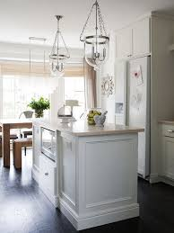 kitchen island microwave transitional kitchen milk and honey