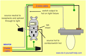 how to wire an outlet and light switch together efcaviation com
