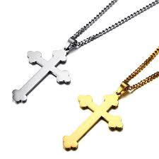 crucifix jewelry aliexpress buy chains gold silver eastern orthodox