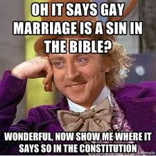 Gay Marriage Memes - condescending wonka on gay marriage we know awesome