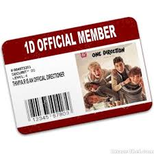 one direction cards 8 best ideal id cards images on business cards