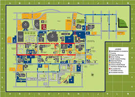 American University Campus Map Campus Maps