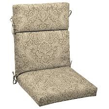 Patio Furniture Chair Cushions Dining Room Extraordinary High Back Patio Outdoor Chair Cushions