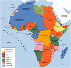 Africa Colonial Map by State Something Completely Random Time